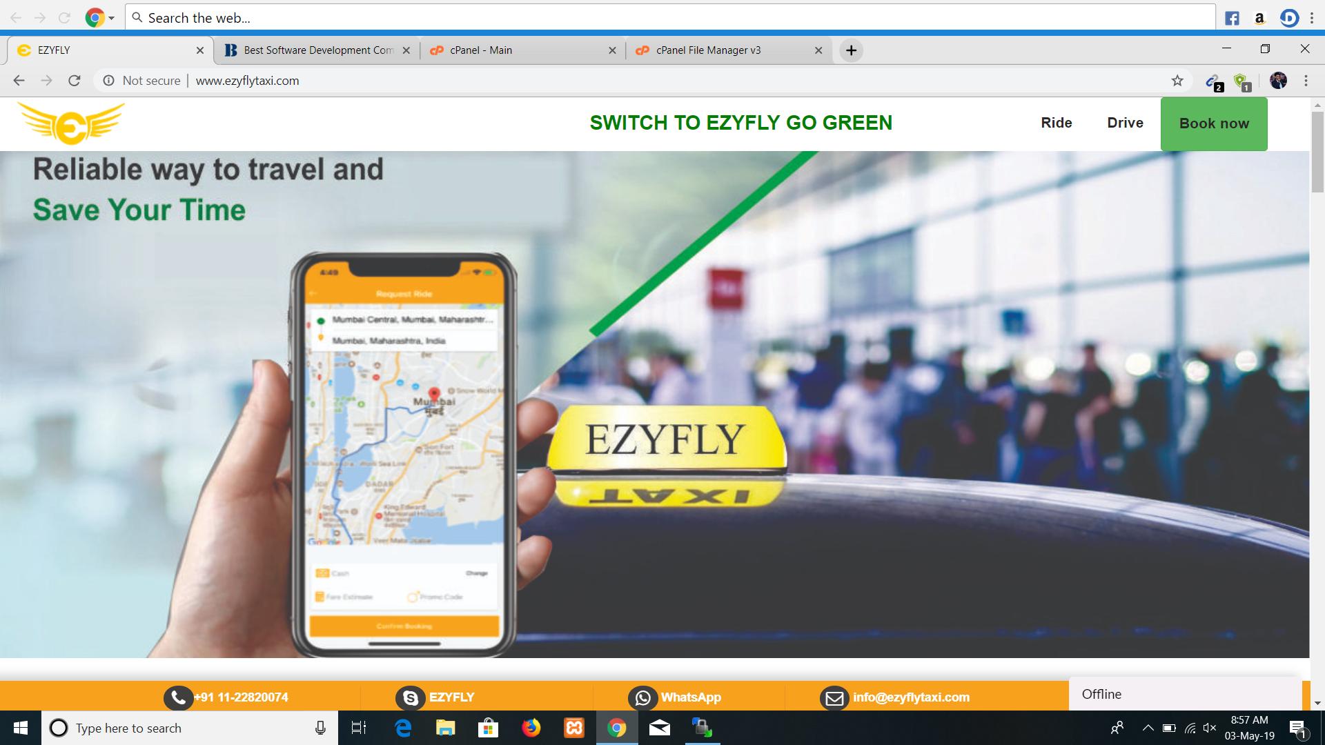 EzyFly Taxy